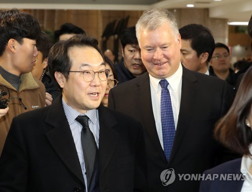 Biegun to meet senior Seoul officials over stalled nuke diplomacy