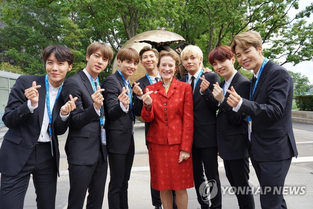 BTS wins UNICEF award
