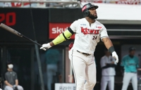 KT Wiz slugger Mel Rojas Jr. voted KBO's top player for June
