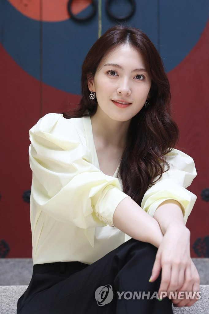 Actress Kang Ji-young at interview