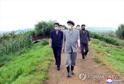 Top N.K. official visits flood-hit area, calls for quick rehabilitation