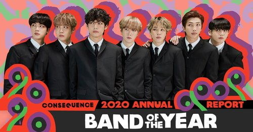 BTS chosen as Band of Year in U.S.