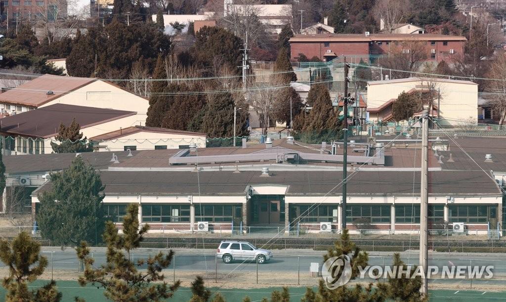 This photo, taken on Jan. 17, 2021, shows the U.S. Army Garrison Yongsan in central Seoul. (Yonhap)