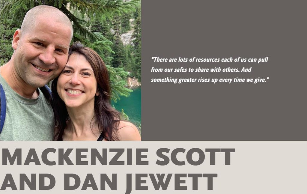 사립학교 과학 교사 댄 주엣과 재혼한 매켄지 스콧