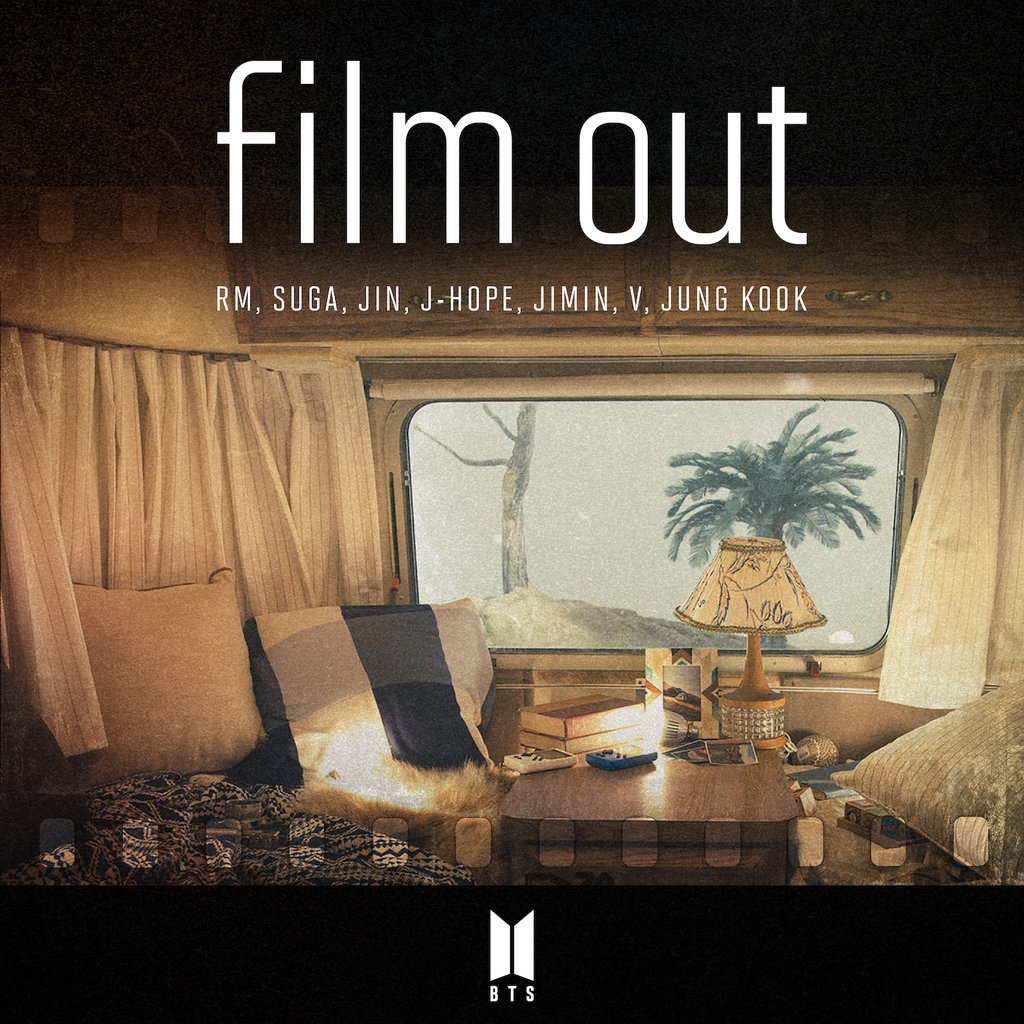 La pochette du single «Film out» de BTS. (Photo fournie par Big Hit Music. Revente et archivage interdits)