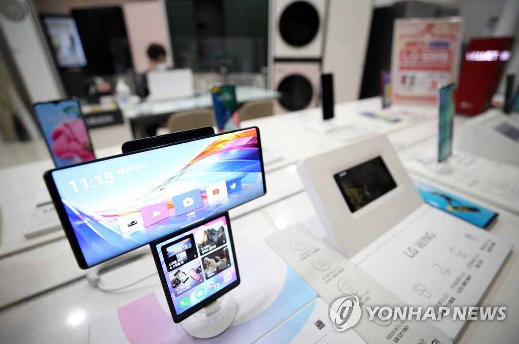 """한신평 """"LG 전자 스마트 폰 사업 중단, 신용도 긍정적"""""""