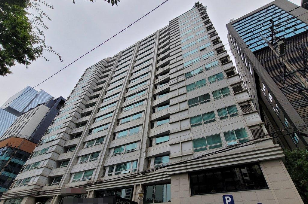 '천화동인 4호' 남욱 변호사가 지난달 가계약한 건물 외경