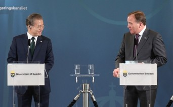 Moon: Two Koreas in communication via various channels