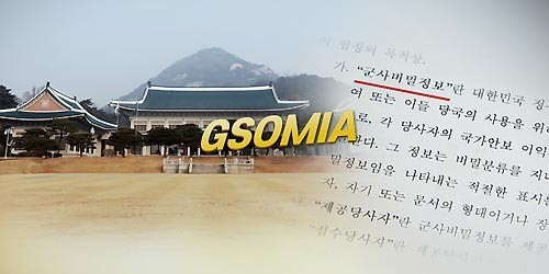 Cheong Wa Dae to announce GSOMIA decision at 6 p.m., termination plan apparently averted